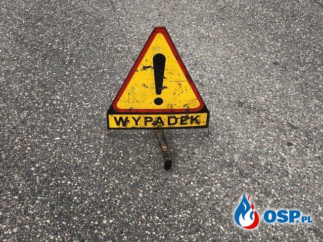 Wypadek Nowe Miasto - Folwark OSP Ochotnicza Straż Pożarna