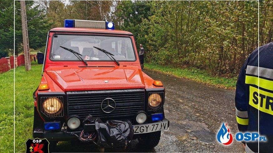Ciężki dzień dla strażaków OSP Ochotnicza Straż Pożarna
