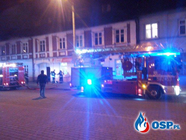 Pożar poddasza w Ozorkowie OSP Ochotnicza Straż Pożarna