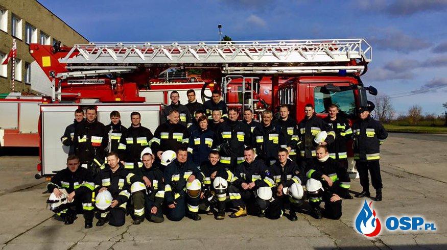 Kurs podstawowy strażaka-ratownika zdany. OSP Ochotnicza Straż Pożarna