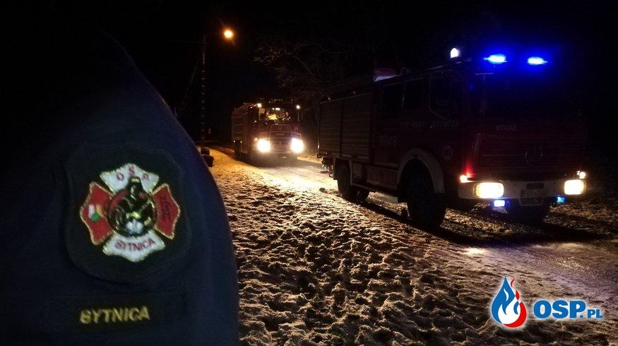 Zdarzenia ratownicze październik-grudzień 2018 OSP Ochotnicza Straż Pożarna