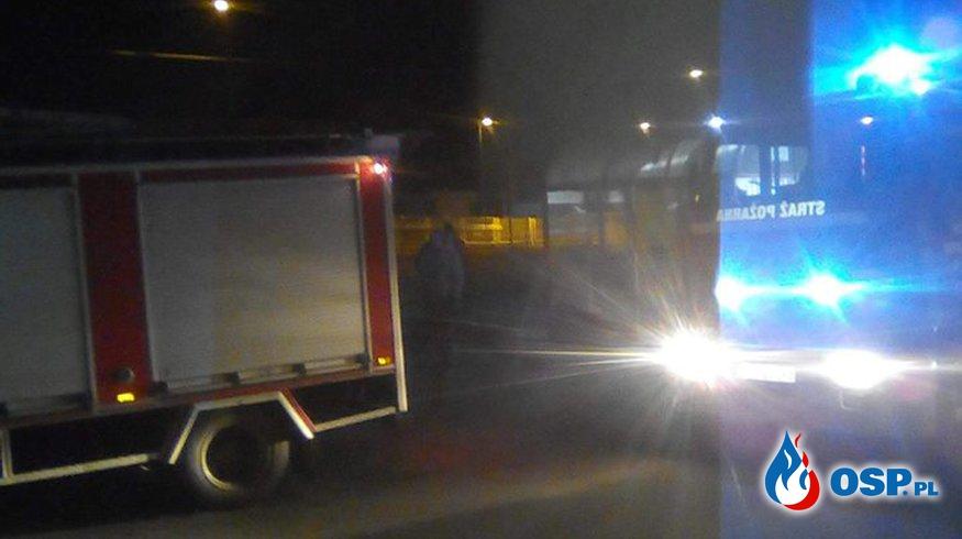 Śmiertelne potrącenie przez pociag OSP Ochotnicza Straż Pożarna