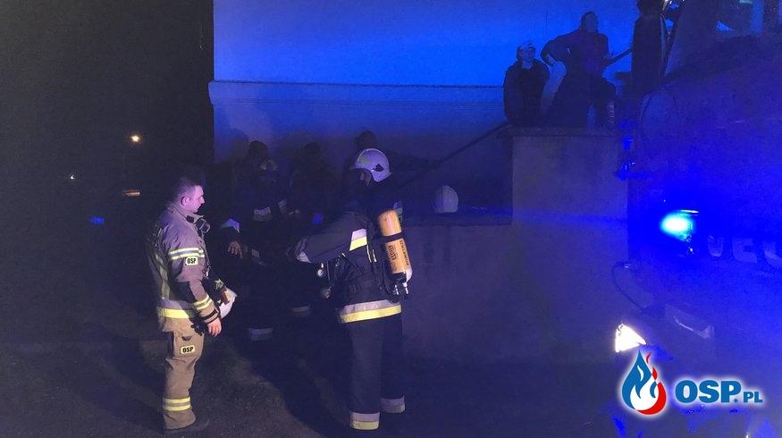 22/2020 Wiadro z żarem przyczyną obecności czadu w budynku wielorodzinnym OSP Ochotnicza Straż Pożarna