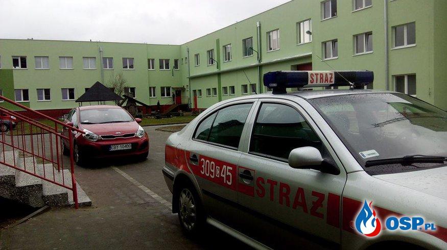 Test wysiłkowy w Komendzie Miejskiej PSP JRG 3 w Toruniu OSP Ochotnicza Straż Pożarna