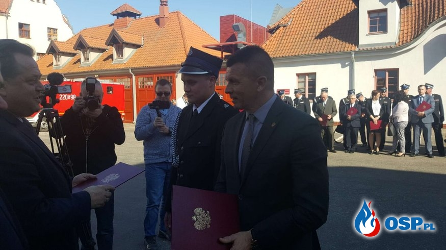 Podpisano dofinansowanie na nowy wóz dla naszej jednostki !!!! OSP Ochotnicza Straż Pożarna