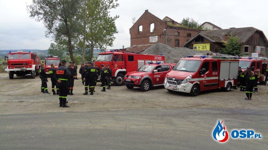Kolarze przejechali przez Zręcin OSP Ochotnicza Straż Pożarna