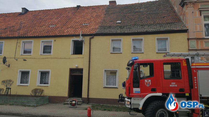 Groźny pożar sadzy OSP Ochotnicza Straż Pożarna