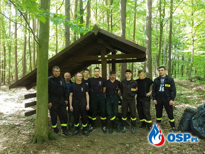 """""""Oczyśćmy nasze lasy ze śmieci"""" OSP Ochotnicza Straż Pożarna"""