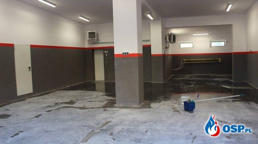 Garaże jak nowe! OSP Ochotnicza Straż Pożarna