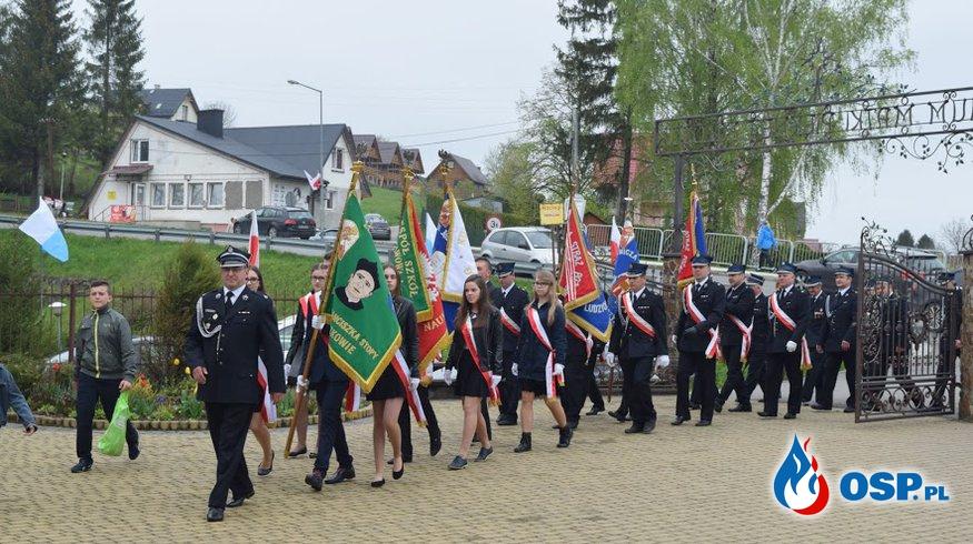 3 maja w Polańczyku OSP Ochotnicza Straż Pożarna