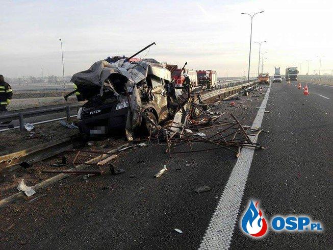 Wypadek dwóch samochodów - trasa S8 OSP Ochotnicza Straż Pożarna