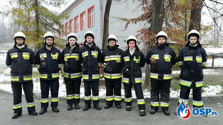 Egzamin kursu podstawowego Strażaków - Ratowników  OSP Ochotnicza Straż Pożarna