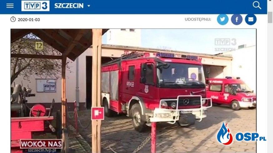 Walka o środki na nowy wóz trwa OSP Ochotnicza Straż Pożarna