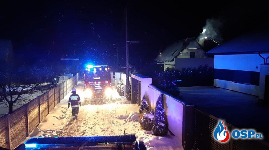 [Zdarzenie nr 2] Pożar sadzy w przewodzie kominowym OSP Ochotnicza Straż Pożarna