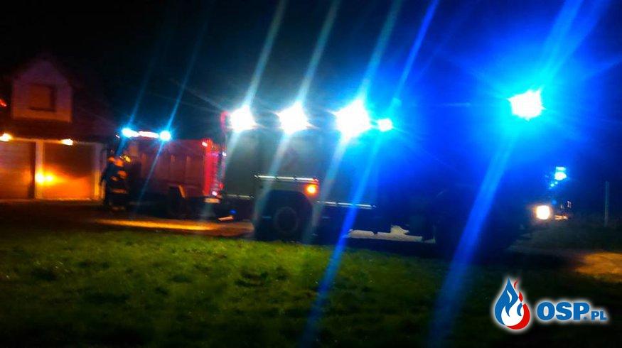 Zdarzenie 9/2016 - pożar sadzy w kominie OSP Ochotnicza Straż Pożarna