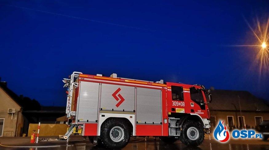 Alarm fałszywy OSP Ochotnicza Straż Pożarna