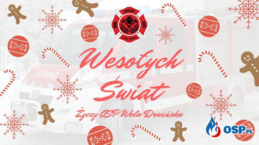 Wesołych Świąt !!! OSP Ochotnicza Straż Pożarna