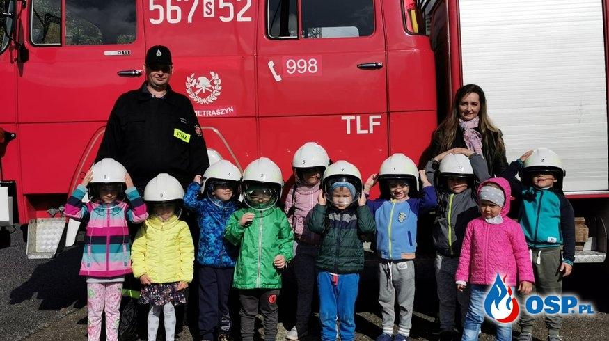 Przedszkolaki w OSP OSP Ochotnicza Straż Pożarna