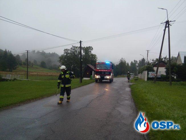 Plama Oleju oraz pomoc sąsiedniej jednostce. OSP Ochotnicza Straż Pożarna
