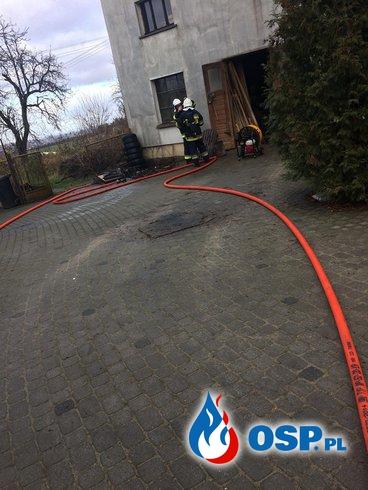 Pożar Stolarni OSP Ochotnicza Straż Pożarna