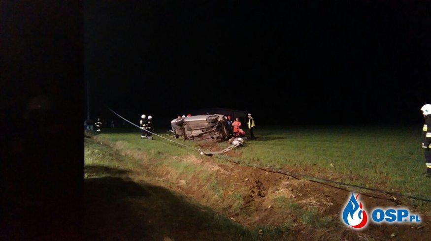 Tragiczny wypadek w gminie Nasielsk OSP Ochotnicza Straż Pożarna