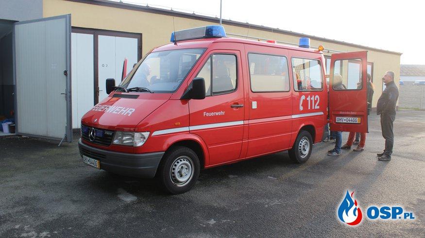 Samochód dla reaktywowanej jednostki! OSP Ochotnicza Straż Pożarna