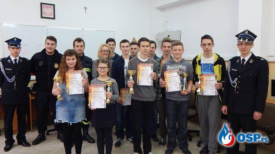 Ogólnopolski Turniej Wiedzy Pożarniczej - Młodzież Zapobiega Pożarom OSP Ochotnicza Straż Pożarna