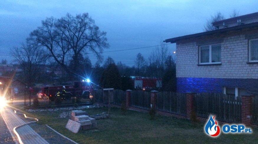 Pożar budynku mieszkalnego oraz pożar traw. OSP Ochotnicza Straż Pożarna