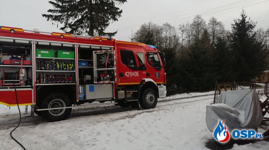 Pożar sadzy m. Buchowo OSP Ochotnicza Straż Pożarna