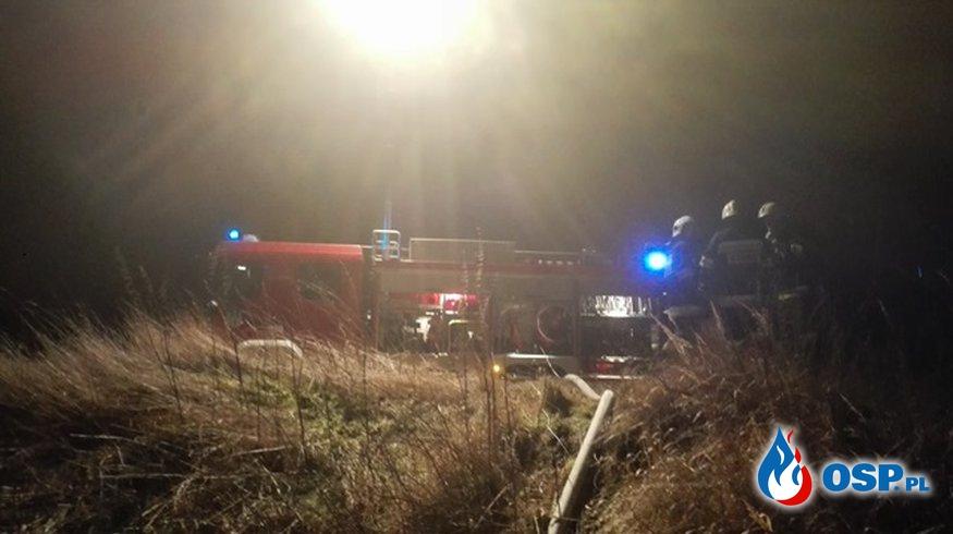Pożar - Miejscowość Budziwojów. OSP Ochotnicza Straż Pożarna