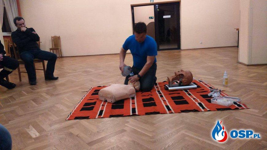 Szkolenie z pierwszej pomocy OSP Ochotnicza Straż Pożarna