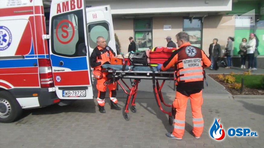 Trzyletni chłopczyk wypadł z okna na ósmym piętrze. Nie udało się go uratować. OSP Ochotnicza Straż Pożarna