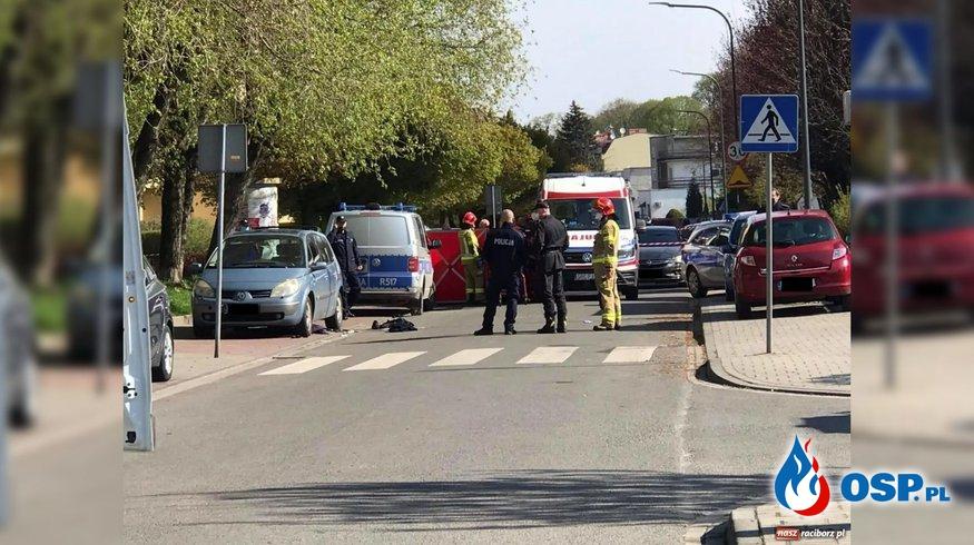 Strzelanina na osiedlu w Raciborzu. Nie żyje policjant. OSP Ochotnicza Straż Pożarna