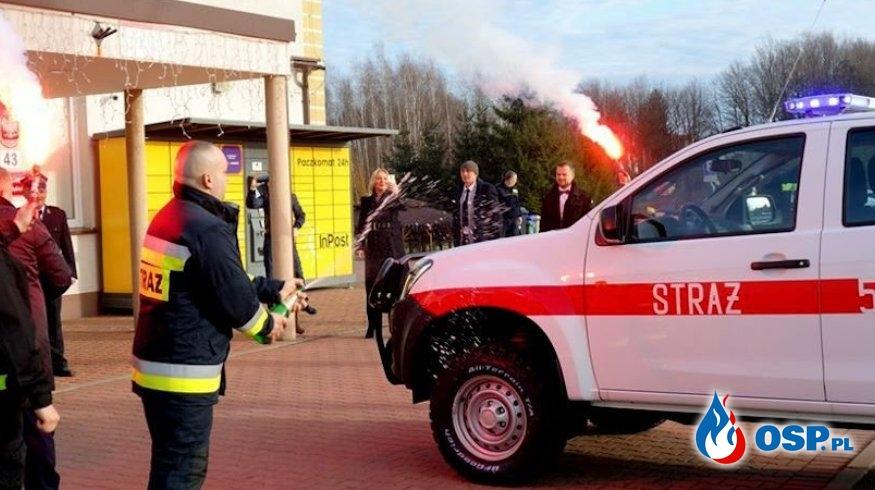 Nasze nowe SLRr Isuzu D-Max OSP Ochotnicza Straż Pożarna