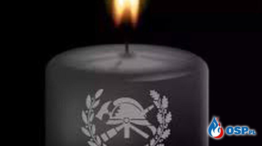 Smutny czas pożegnań OSP Ochotnicza Straż Pożarna