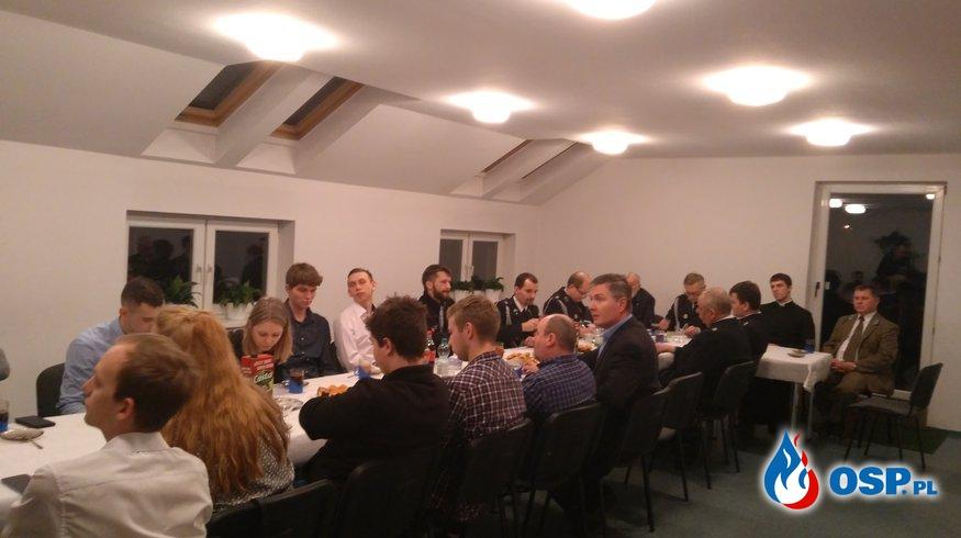 Zebranie OSP Ochotnicza Straż Pożarna
