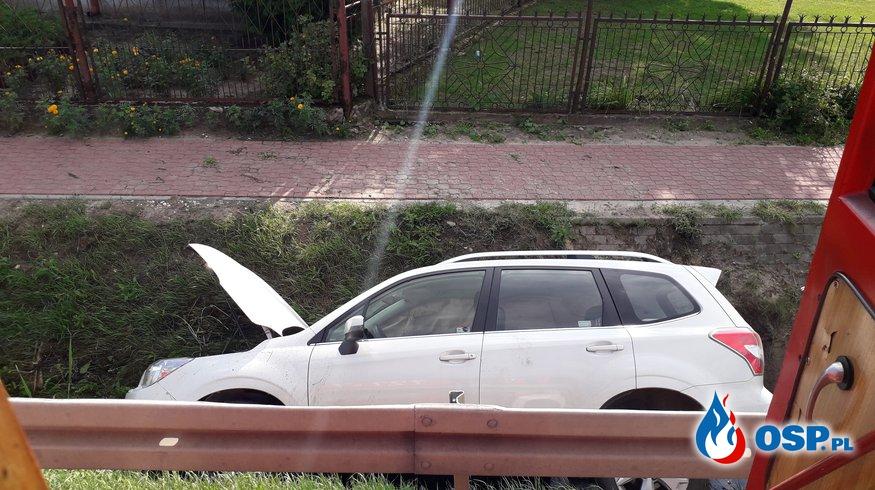 Wypadek DK50 miejscowość Aleksandrów OSP Ochotnicza Straż Pożarna