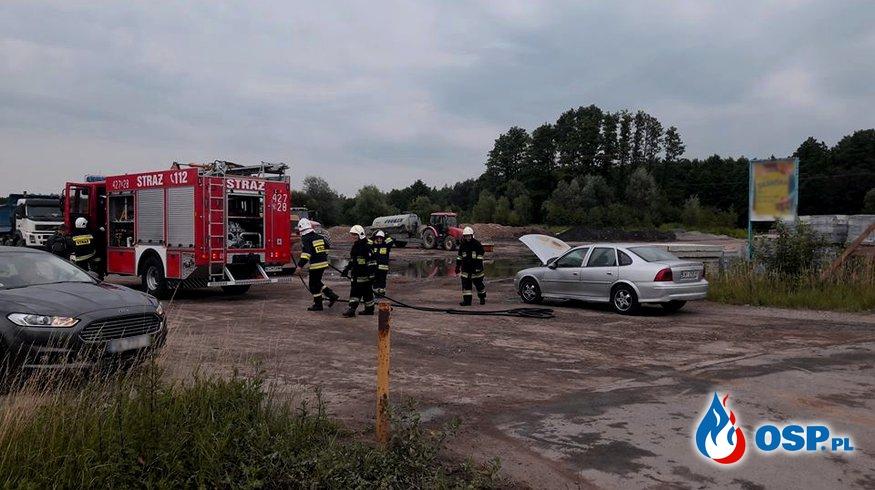 Pożar samochodu - ul. Zakopiańska w Babicach OSP Ochotnicza Straż Pożarna