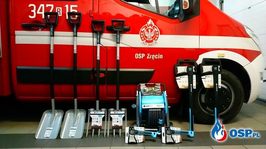 Nowy sprzęt... OSP Ochotnicza Straż Pożarna