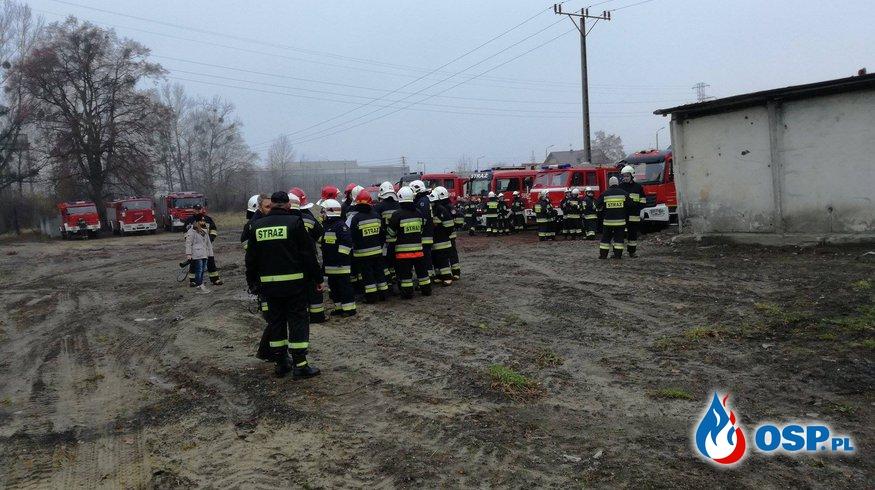 [44/2016] Ćwiczenia kompanii odwodowej nr.11 OSP Ochotnicza Straż Pożarna