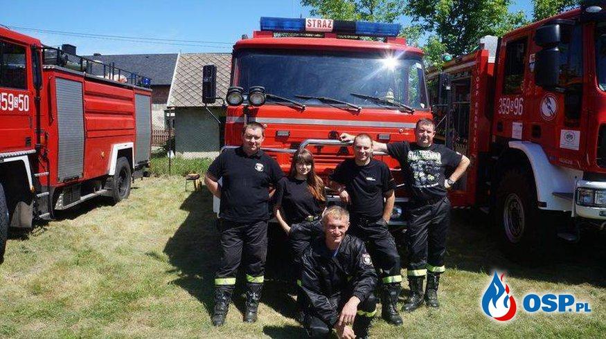 Manewry . Złoty Potok, Janów . 9 czerwca 2017r OSP Ochotnicza Straż Pożarna