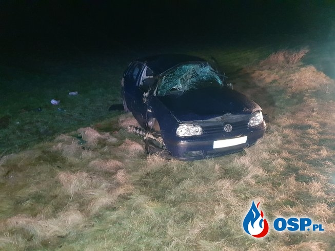 Wypadek Zasonie gmina Nowe Miasto OSP Ochotnicza Straż Pożarna