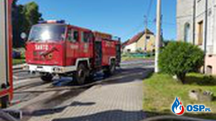 Pożar w Warcinie OSP Ochotnicza Straż Pożarna