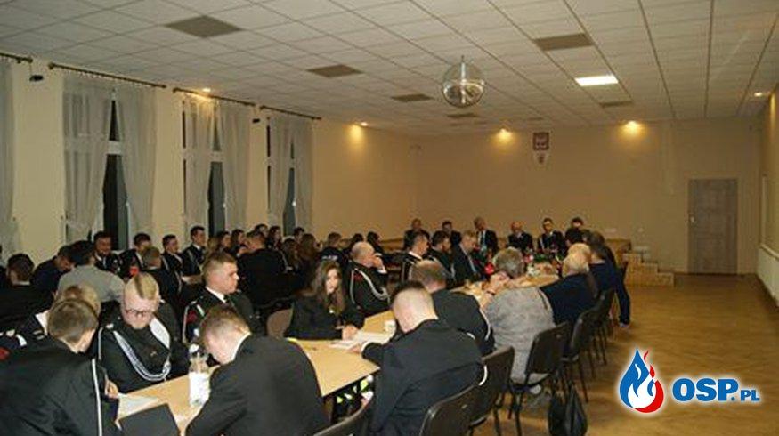 Zebranie Sprawozdawczo Wyborcze w OSP Szarów OSP Ochotnicza Straż Pożarna