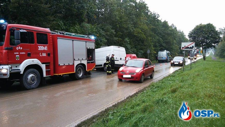 W wezwaniu była plama... OSP Ochotnicza Straż Pożarna