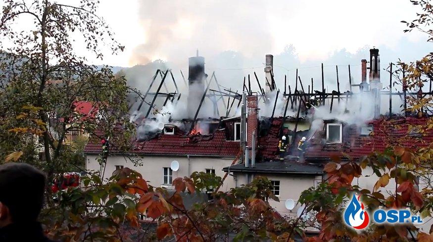 Spłonęło mieszkanie strażaka. Potrzebna pomoc. OSP Ochotnicza Straż Pożarna