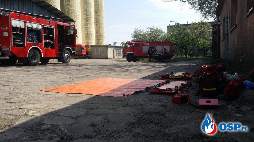 Ćwiczenia Młyn Samborowo OSP Ochotnicza Straż Pożarna