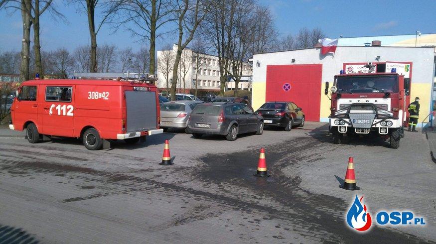 Zabezpieczenie V Biegu Niezłomnych OSP Ochotnicza Straż Pożarna