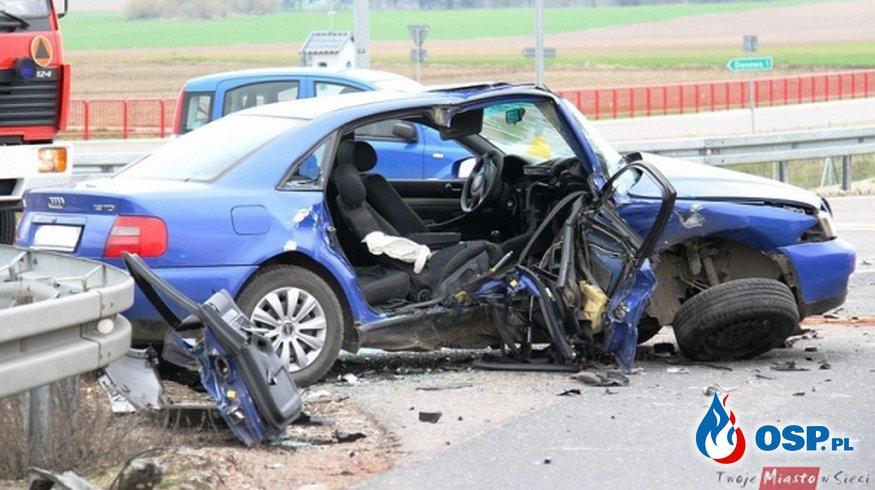 Tragiczny wypadek na obwodnicy OSP Ochotnicza Straż Pożarna