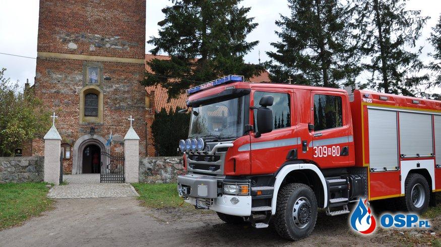 Uroczystość poświęcenia Scanii! OSP Ochotnicza Straż Pożarna